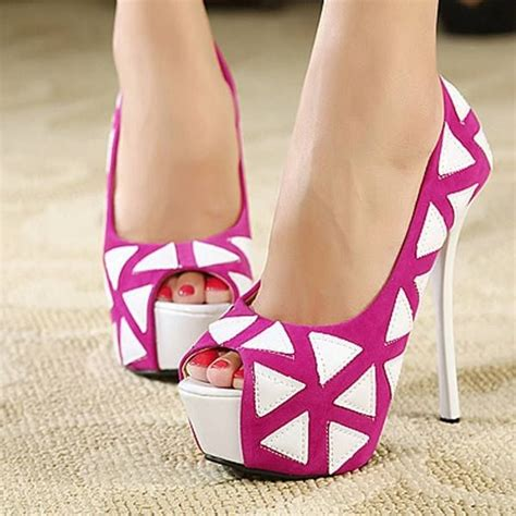 pink and white high heels pink white open toe high heels pictures photos and