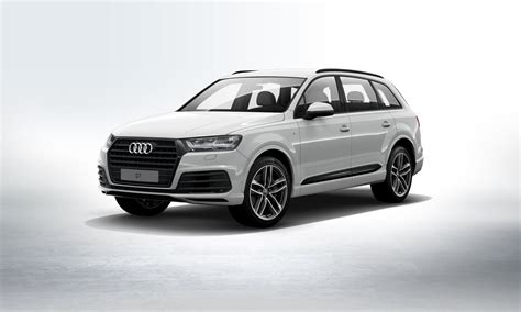 Best Colour Combinations by 2017 Q7 Glacier White With Black Optic Package Audiworld