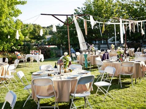 how to have a backyard wedding reception small backyard wedding reception ideas criolla brithday