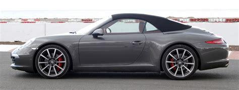 grey porsche 911 convertible 2012 porsche 911 cabriolet w video autoblog