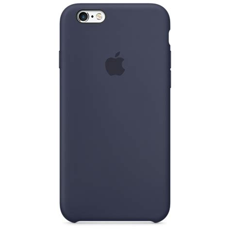 iphone 6s silicone midnight blue apple
