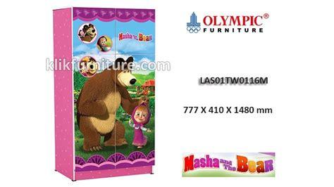 Lemari Olympic Anak las01tw0116m lemari anak masha olympic sale