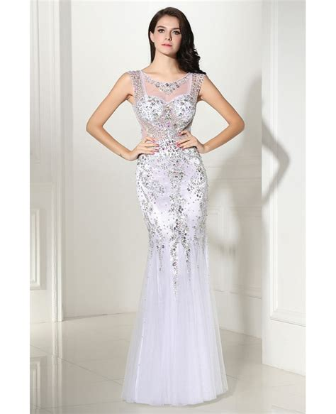 colorful prom dresses luxury colorful beaded mermaid tulle prom dress