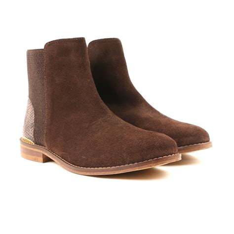 chocolate brown boots carlton chelsie cl6553 s chocolate brown