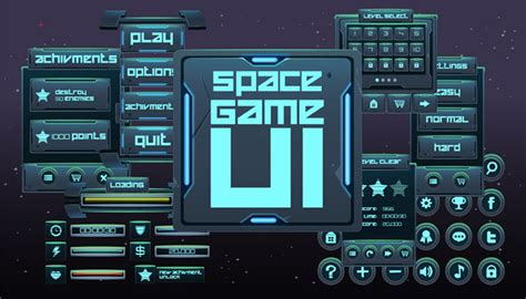 game ui layout space game ui thegameassetsmine