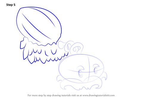 winter melon coloring page step by step how to draw winter melon from plants vs
