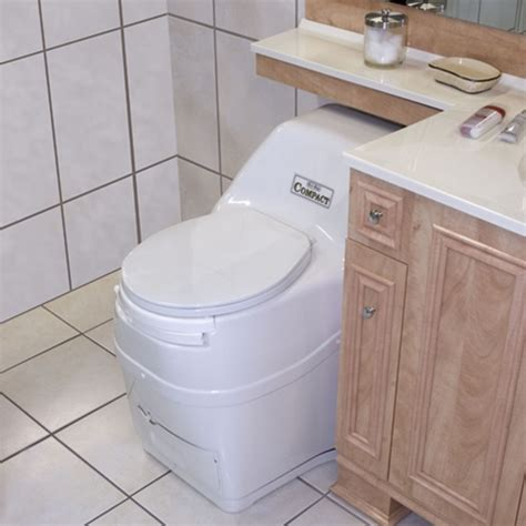 self contained bathroom sun mar compact self contained composting toilet by sun mar