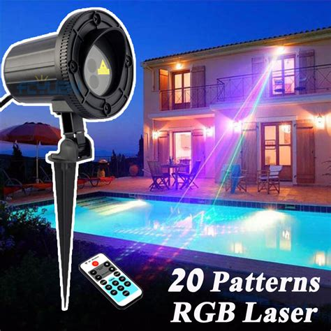 best holiday light projector rgb 20 patterns christmas lights outdoor laser projector