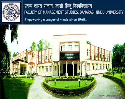 Mba In Financial Management From Bhu bhu varanasi mba admission 2018 eligibility application