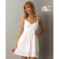 Sundress in white by o neill 52 00 fashion dresses thisnext