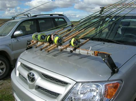 Fly Rod For Roof Rack by Roof Rack Modified To Make Fly Rod Holder Truck Stuff