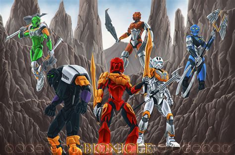 painting new 2015 bionicle 2015 by ferain on deviantart
