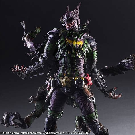 figure joker play arts dc variant joker batman figure the toyark