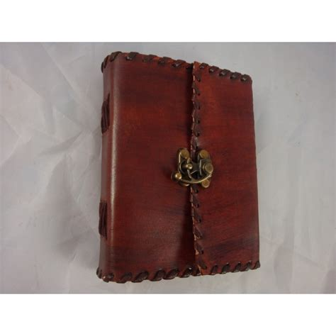 Handmade Leather Journals For - 6 quot handmade leather journal vagabond travel gear