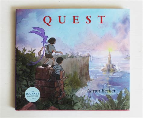 libro quest journey trilogy 2 quest by aaron becker beautiful effort but not as good as journey lightlit