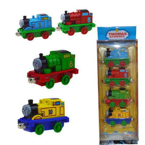 Diecast And Friends 164 4 Pcs and friends metal plastic 4pcs set children s toys alloy magnetic model steam