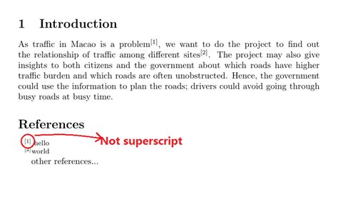Format Footnote Superscript | formatting endnotes do not be superscript and add a