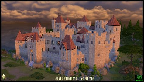 sims 4 medieval castle simsdelsworld the sims 4 flagenburg castle