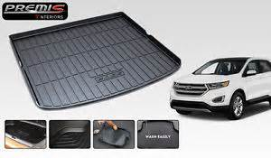 Rear Cargo Mat For Ford Edge All Weather Tpo Car Rear Trunk Mat Cargo Boot Liner For