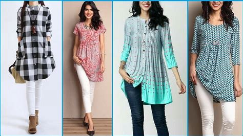 stylish designs top stylish designer short kurti kurta designs youtube