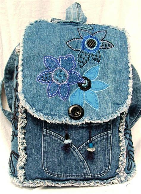 jeans backpack pattern 85 best mochilas backpack denim images on pinterest
