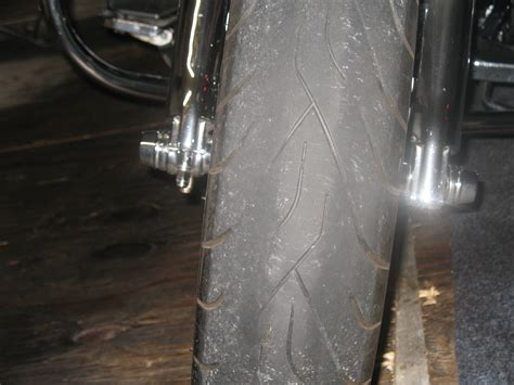 motorcycle wear front tire wear harley davidson forums