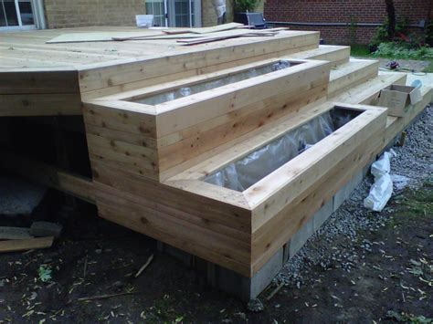 building a ground level deck best way to build ground level deck how floating