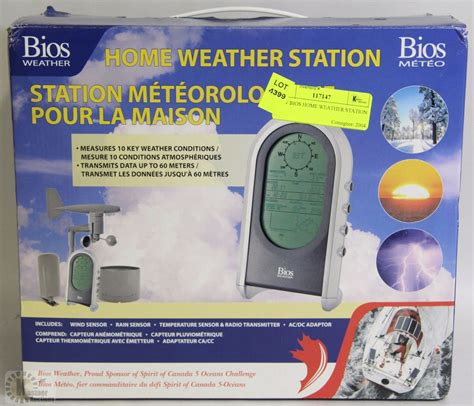 new bios home weather station