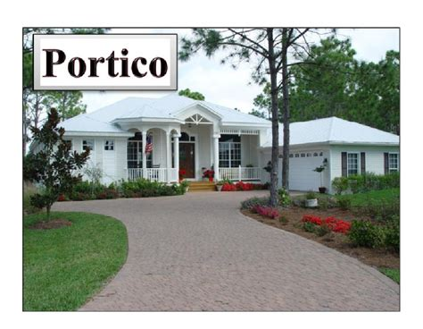 house plans with portico portico model ramos builders inc