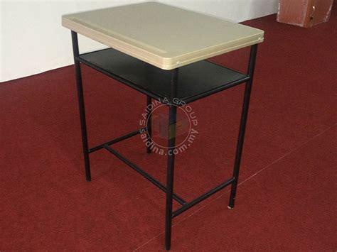 Meja Plastik Tinggi jualan murah meja dan kerusi sekolah 80 murid classroom furniture saidina perabot