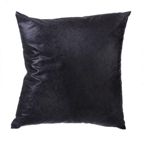 cuscini ecopelle cuscino ecopelle nero cuscino e fodera per cuscino eminza