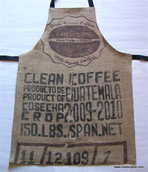 coffee shop apron design coffee sacks aprons and sacks on pinterest