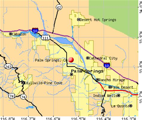 springs in southern california map map of california showing palm springs deboomfotografie