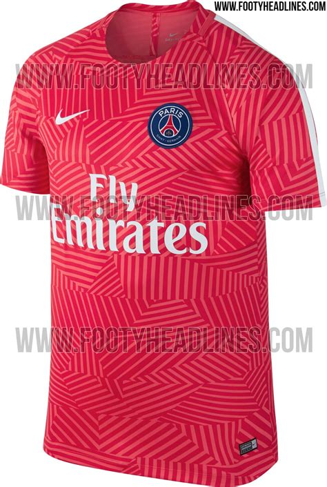Shirts C 14 16 17 by Psg 16 17 Pre Match Shirt Leaked Footy Headlines