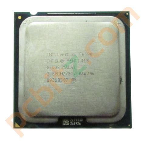 Intel 2 Duo E4500 22 Ghz Socket 775 intel 2 duo e6300 slgu9 2 8ghz socket lga775 cpu