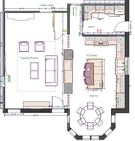 kitchen floor plan ideas with island 72 best kitchen layout images on pinterest kitchen