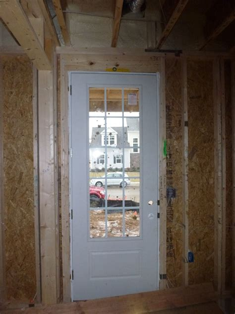 Plumb Verb by What Do We Do On New Construction When Doors Aren T Level