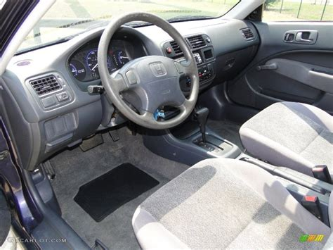 1998 honda civic cx hatchback interior photo 50401702
