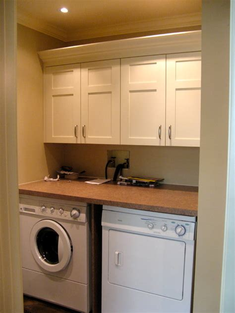 Cabinets For A Laundry Room Laundry Mud Rooms And Front Entrance Cabinets Traditional Laundry Room Other Metro By