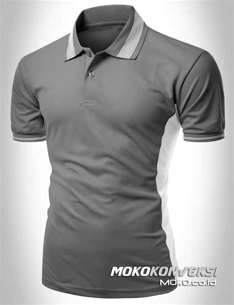 Kaos Macbeth Grey polo shirt custom konveksi semarang moko baju polo