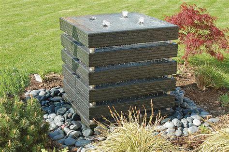 Gartenbrunnen Stein Modern by Gartenbrunnen Materialien Gartenbrunnen