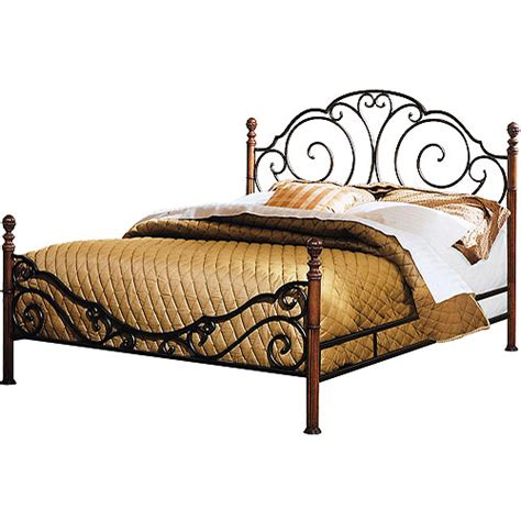 metal bed frames queen adison metal bed queen walmart com