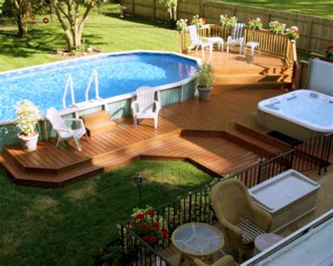 Above Ground Pool Landscaping Ideas Mr Adam Pools And Landscaping Ideas Gallery Of Guns
