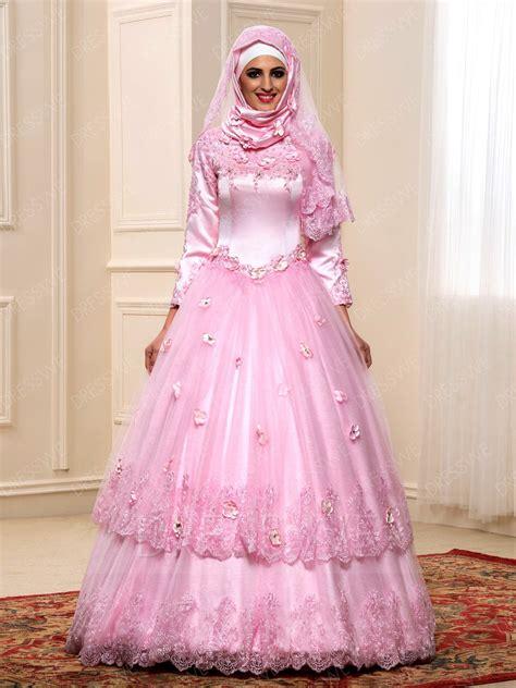desain gaun pengantin wanita model model gaun pengantin wanita berhijab dengan desain