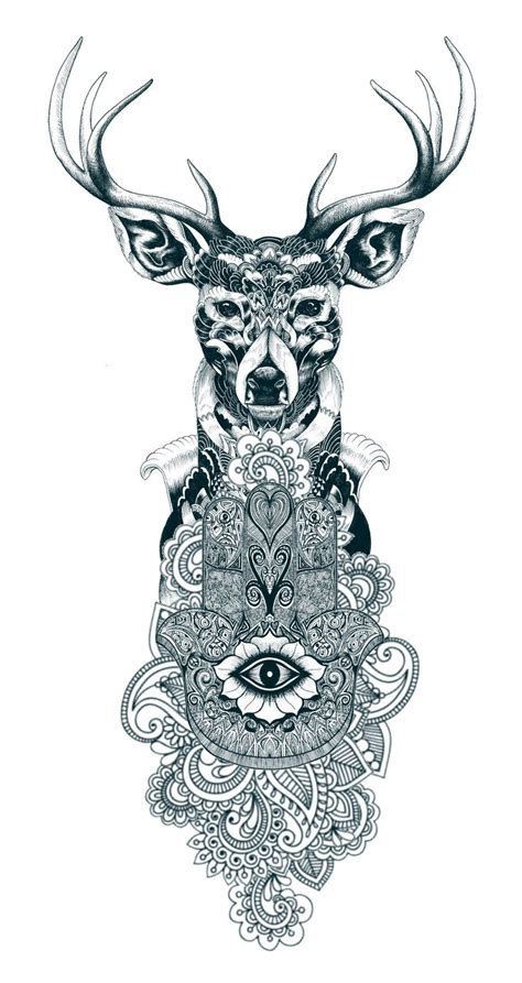 stag tattoo designs 1000 ideas about stag design on
