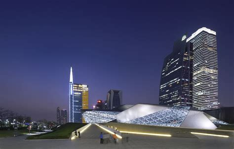 Guangzhou Opera House by Hufton Projects Guangzhou Opera House