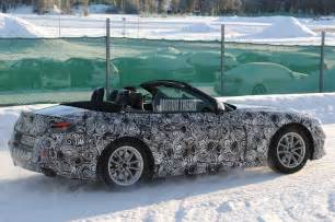 Toyota Bmw Spied Bmw Z5 And Toyota Supra Winter Testing