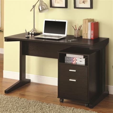 writing desk with matching file cabinet coaster 2 desk set with rolling file cabinet