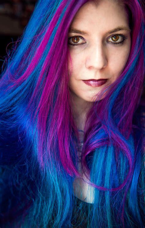 colored hair rainbow hair multi colored hair manic panic dye