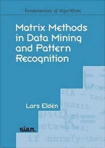 pattern recognition algorithms for data mining free download matrix methods in data mining and pattern recognition